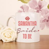 Personalised Bride to Be Mug