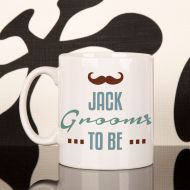 Personalised Groom to Be Mug