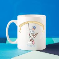 Personalised Male Decorator Painter Handy Man Mug