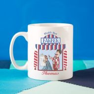 Personalised Mens Barber Keepsake Mug