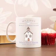 Personalised Holy Communion Drinking Mug