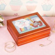 Noahs Ark Personalised Musical Jewellery box