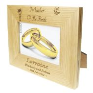 Personalised Mother of the Bride Photo Frame