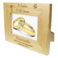 Personalised Mother of the Groom Photo Frame
