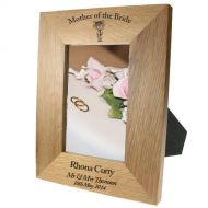 Portrait oak frame: Mother of the Bride