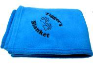 Personalised Luxury Blue Pet Blanket