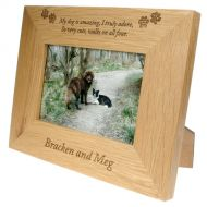 Engraved Photo Frame for Dogs