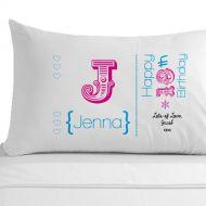 Personalised 18th Birthday Pillowcase