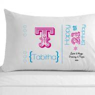Personalised 21st Birthday Pillowcase