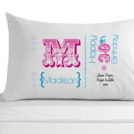 Personalised 30th Birthday Pillowcase