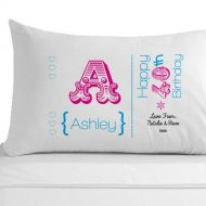 Personalised 40th Birthday Pillowcase
