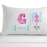 Personalised 80th Birthday Pillowcase