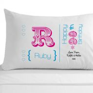 Personalised 90th Birthday Pillowcase