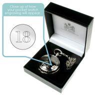 Personalised 18th Birthday Pocket Watch