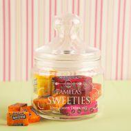 Personalised Glass Sweet Jar