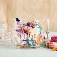 Personalised Sweet Stash Glass Jar