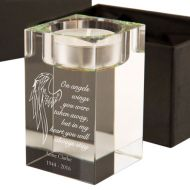 Angel Wings Memorial Tealight Holder