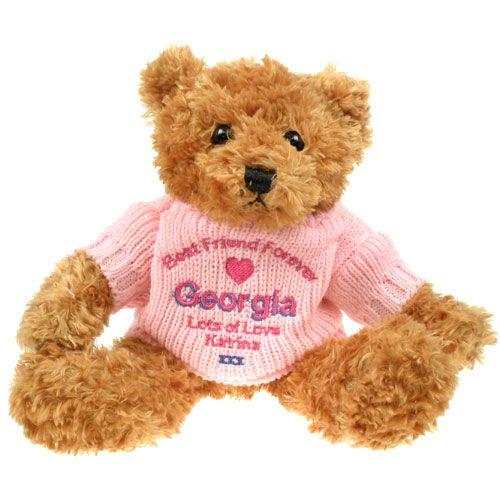 Personalised Best Friend Teddy Bear Special Best Friend