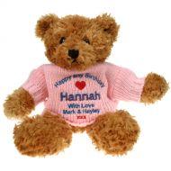Personalised 18th Birthday Brown Teddy Bear