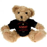 Personalised 50th Birthday Light Brown Bear