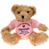 Personalised 18th Birthday Light Brown Teddy Bear