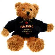 Personalised Best Man Brown Teddy Bear
