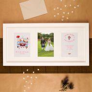 Premium Illustrated Wedding Wall Frame: Scottish Design
