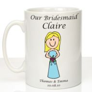 Personalised Mug for Bridesmaid
