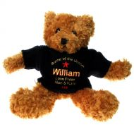 Personalised Brother of the Groom Teddy Bear