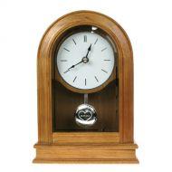 Personalised Wedding Oak Clock