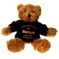 Personalised Brown Father of the Bride Teddy Bear