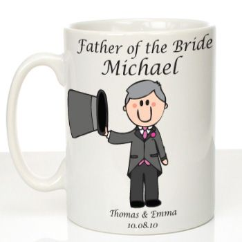 Personalised Mug for Father of the Bride: Traditional