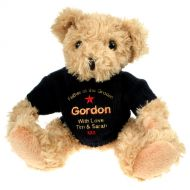 Personalised Father of the Groom Teddy Bear