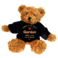 Personalised Brown Father of the Groom Teddy Bear