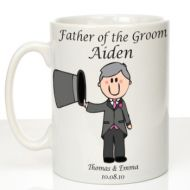 Personalised Mug for Father of the Groom: Traditional