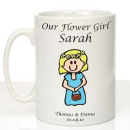 Personalised Mug for Flower Girl