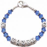 Flower Girl Bracelet - Mandy Design