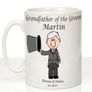 Personalised Mug for Grandfather of the Groom: Traditional