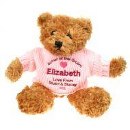 Personalised Mother of the Groom Brown Teddy Bear