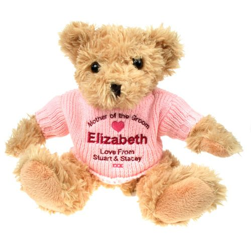 Personalised Mother of the Groom Teddy Bear