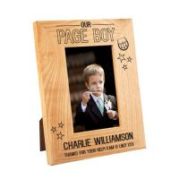 Scottish Page Boy Oak Frame