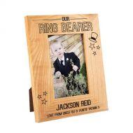 Ring Bearer Stars Oak Frame
