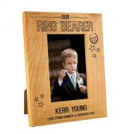 Scottish Ring Bearer Oak Frame