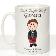 Personalised Mug for Page Boy: Scottish