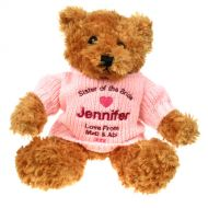 Sister of the Bride Brown Teddy Bear