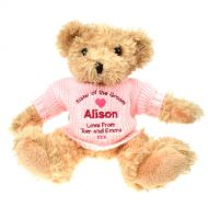 Personalised Sister of the Groom Teddy Bear