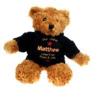 Personalised Brown Teddy Bear: Usher