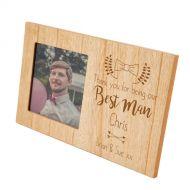 Engraved Best Man Frame