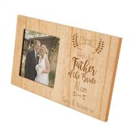 Engraved Father of the Bride Frame