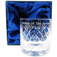 Father of the Groom Whisky Glass